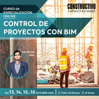 Curso de Especialización Online en Control de Proyectos con BIM