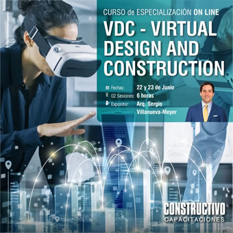 CURSO de ESPECIALIZACIÓN ONLINE VDC - Virtual Design and Construction