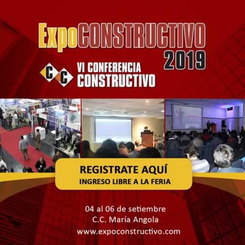 Registrese Gratias a ExpoCONSTRUCTIVO 2019