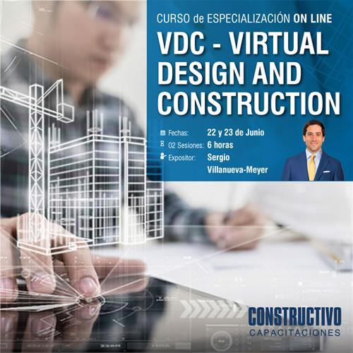 CURSO de ESPECIALIZACIÓN ONLINE VDC - Virtual Design and Construction