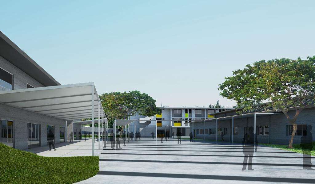 Cosapi construirá el Colegio de Alto Rendimiento de Ica, que tendrá 17,900 m2 de área construida