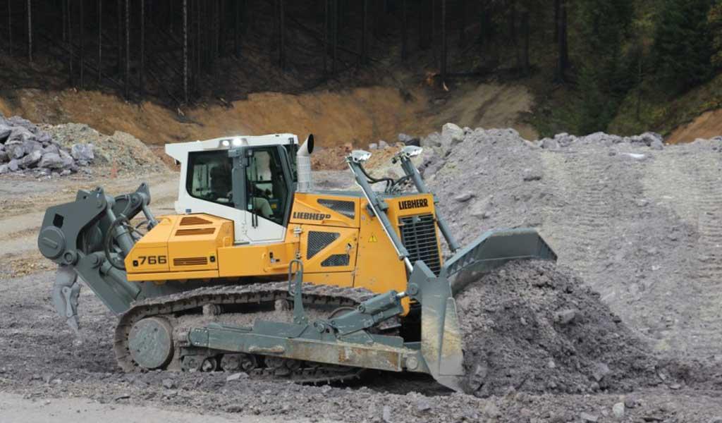 Liebherr presenta la topadora PR 766 de 50 toneladas