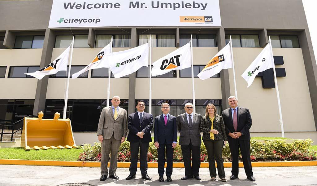 Ferreycorp celebró 75 años de representación de Caterpillar y 95 de fundación