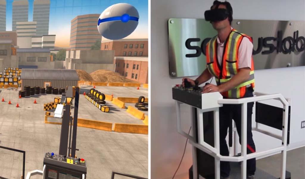 La realidad virtual encuentra un nicho en el equipamiento, la educación de oficios cualificados