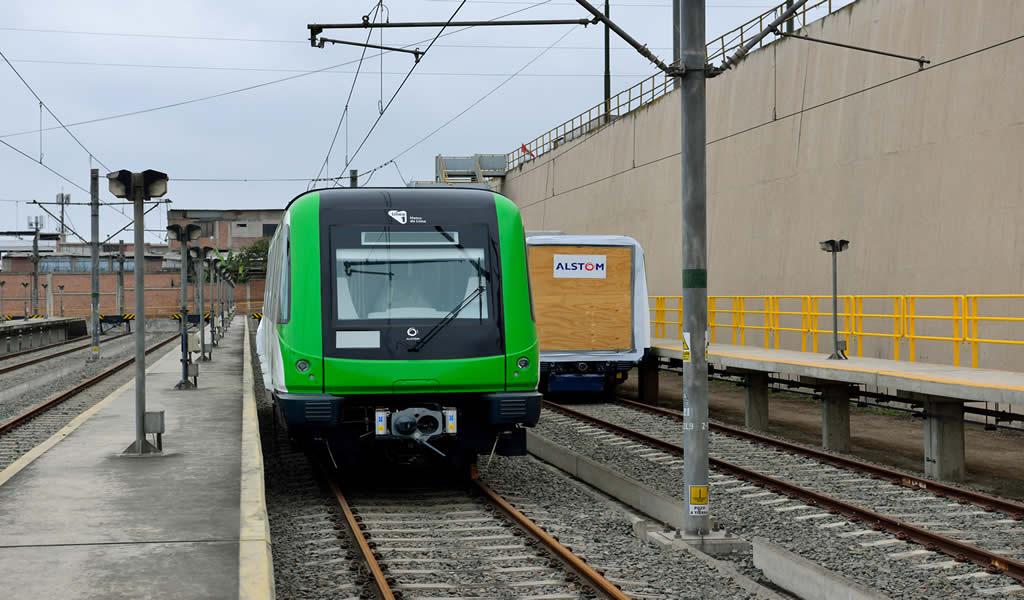 Perú recibe el primer tren adicional de Alstom para incorporarse a la flota de la Línea 1 del Metro de Lima