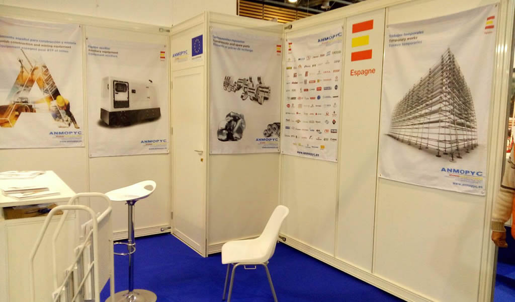 ANMOPYC participó junto con varias de sus empresas asociadas en la feria BATIMAT celebrada en París