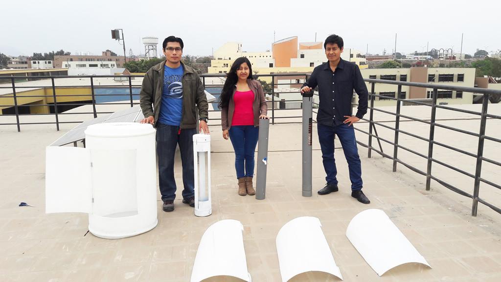 Universitarios de San Marcos presentarán turbina eólica que genera agua potable