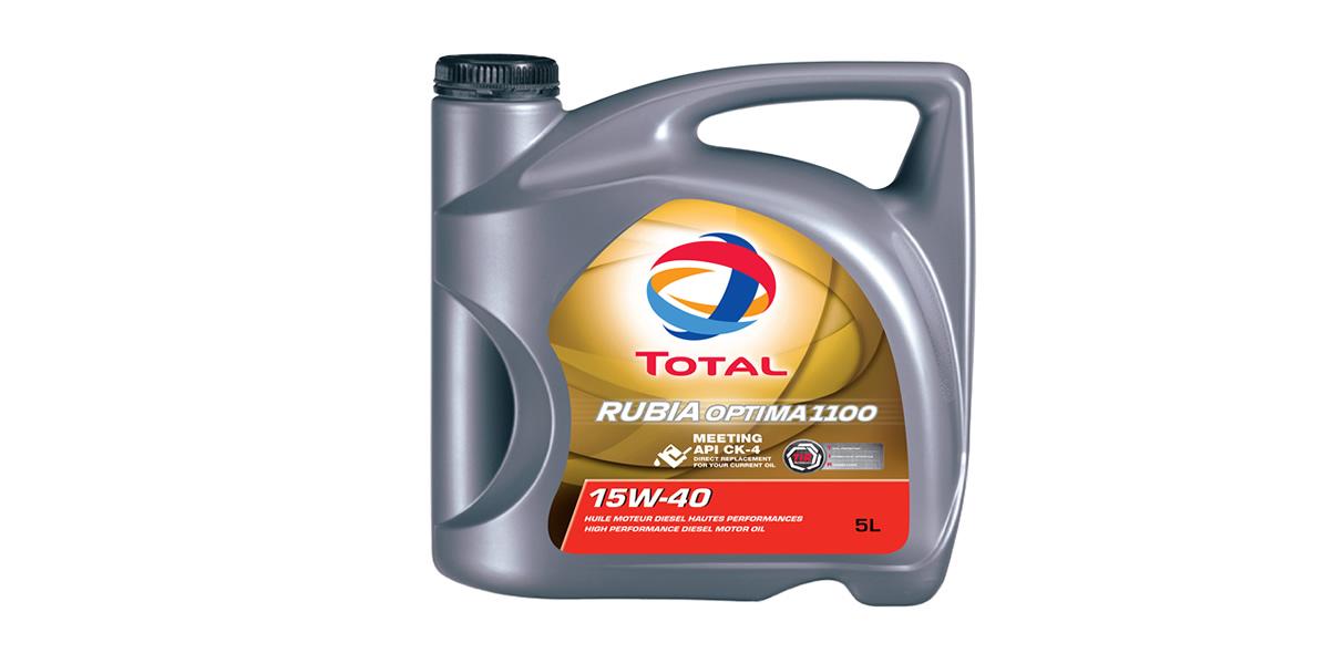 TOTAL RUBIA OPTIMA 1100 protege los motores a las más altas temperaturas y presiones