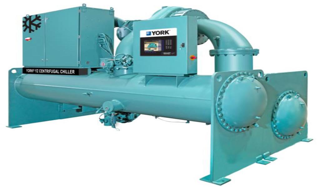 Johnson Controls presentó el nuevo Chiller centrífugo YORK® YZ de rodamiento magnético