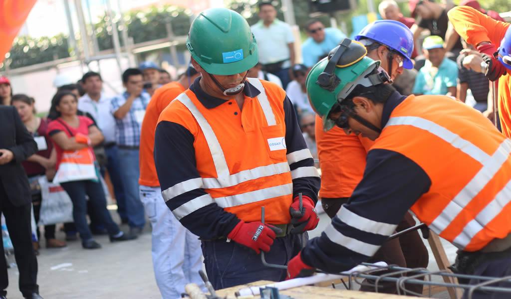 Principales empresas del sector construcción capacitarán a más de 22 mil personas