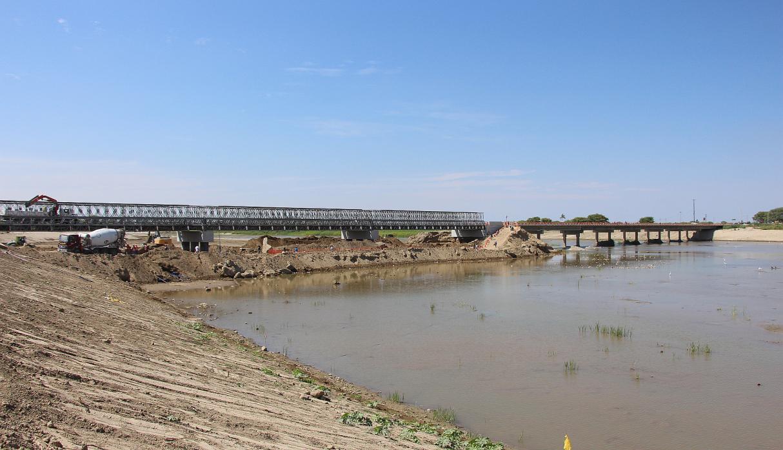 Presidente entregará puente modular independencia y nuevas viviendas en el distrito de catacaos