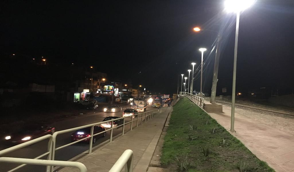 Tecnología LED ilumina Camino del Inca en Cusco