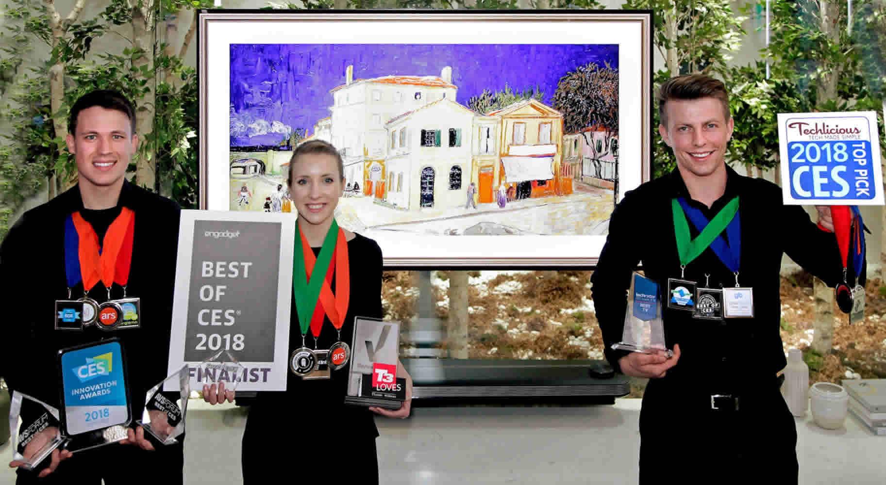 LG Electronics gana más de 90 premios en el ces 2018