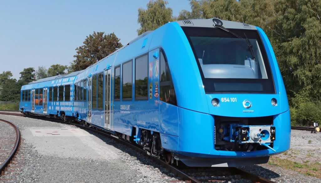 """Alstom gana el """"Trofeo de Movilidad"""" de Europe 1 por su tren de hidrógeno"""