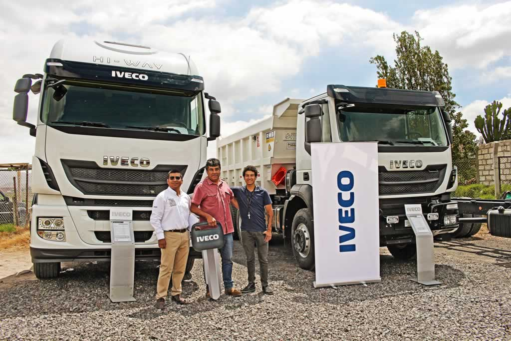 El Rally Iveco llega a la Ciudad Blanca