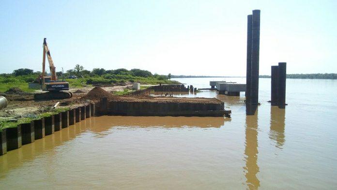 Con un avance del 88%, la primera etapa del Puerto Las Palmas en Argentina finalizaría en mayo