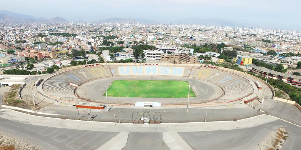 Remodelarán estadio de San Marcos con miras a Panamericanos