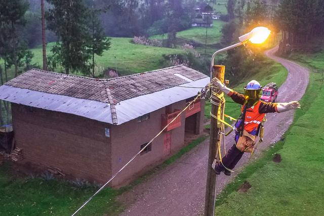 Inauguran Sistema Eléctrico Rural Chilete-V Etapa