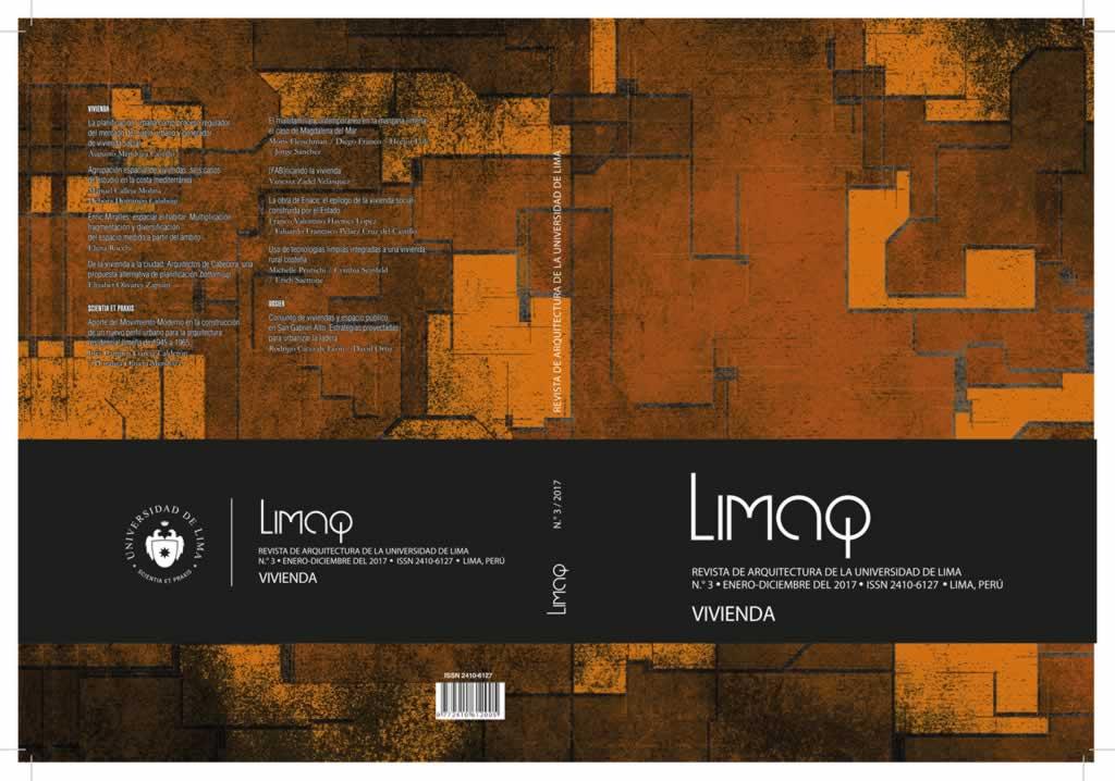 La Universidad de Lima presenta la revista de arquitectura Limaq n°3