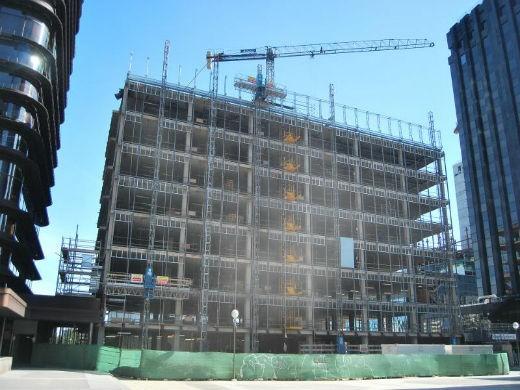 La actividad de construcción en España se hundió un 13,4% en diciembre