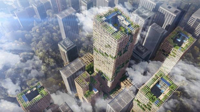 Japón hará el rascacielos de madera más alto del mundo