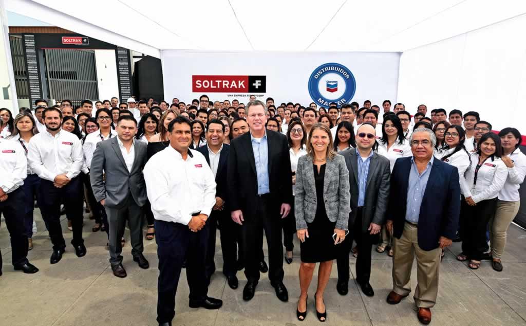 Chevron será representado a nivel nacional por Soltrak