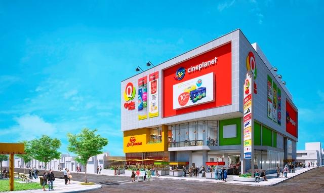 QHATU PLAZA es el nuevo mall vecinal que combina el retail moderno con el mercado tradicional