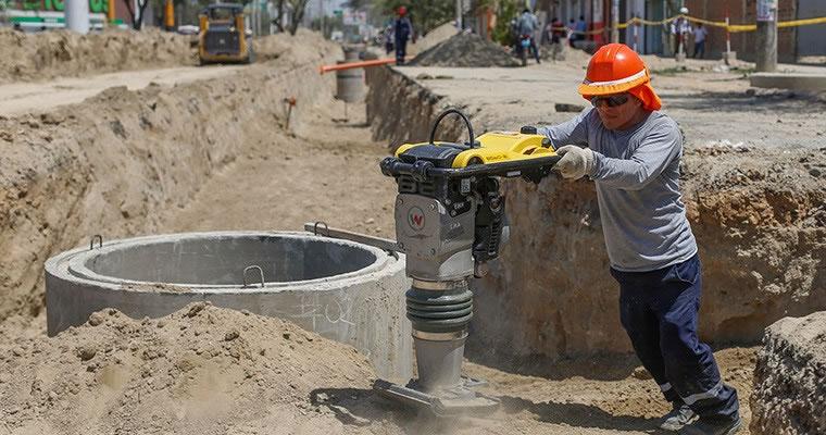 Destinarán S/ 7,775 mllns. a obras de saneamiento