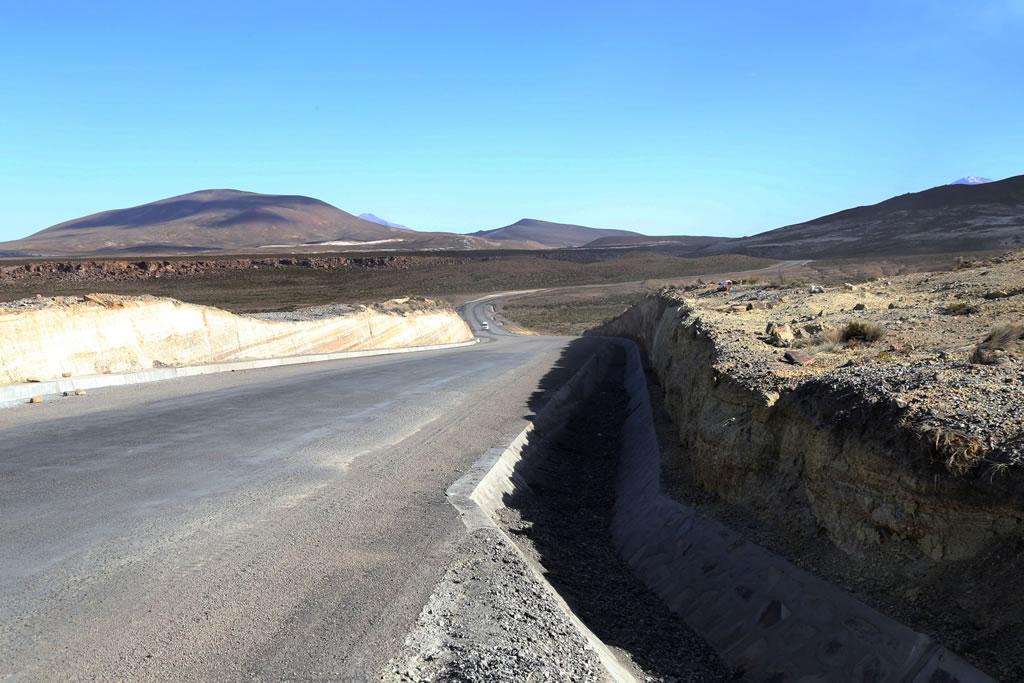 Z Aditivos S.A. suministró a la carretera Tacna – Collpa – La Paz