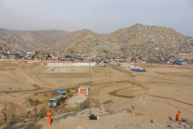 Panamericanos Lima 2019: Obras muestran avances