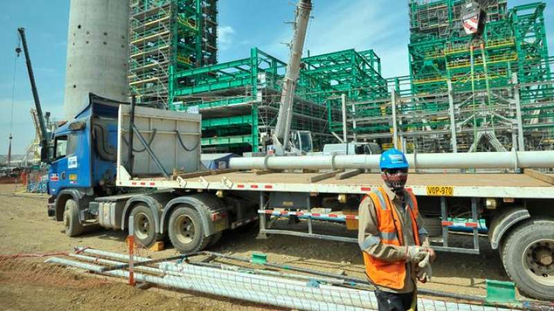 Construcción de nueva refinería Talara tiene un avance del 70%