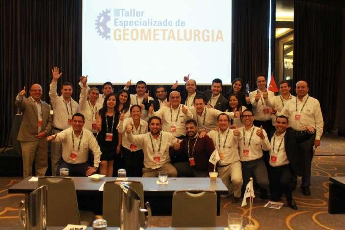 SGS Perú dictó III Taller sobre Geometalurgia con máximas