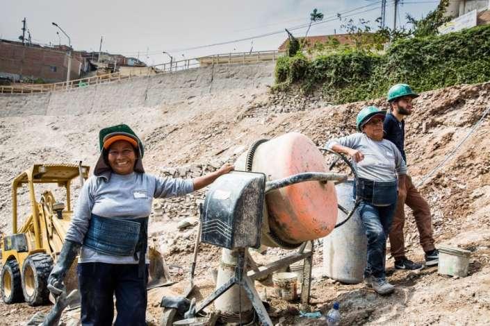 Proyecto La Ensenada de Mano a Mano recibe el Premio a la Práctica Inspiradora otorgado por ONU Hábitat