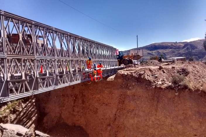 MTC destinará S/ 74 millones para instalar 86 puentes modulares