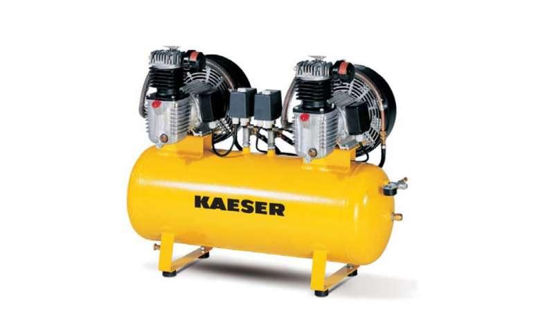 KAESER COMPRESORES - Compresores Industriales de Pistón