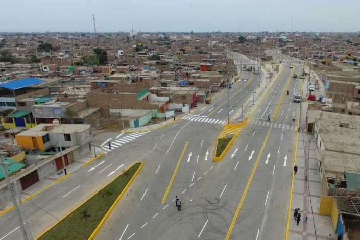 Concluyen construcción de pistas y  veredas en Chincha