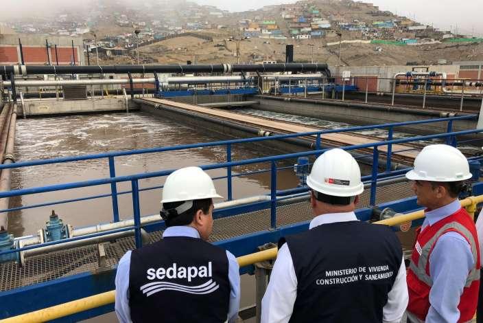 PTAR La Chira fue presentada ante autoridades regionales de Puno por el Ministro de Vivienda, Construcción y Saneamiento