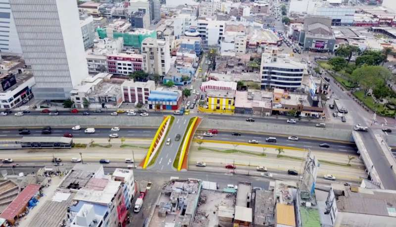 Vía Expresa: puentes serían entregados a mediados de octubre