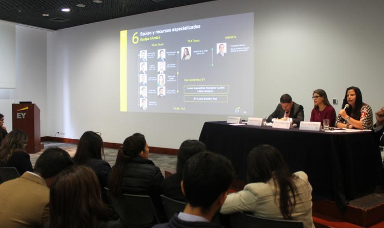 EY realizó conferencia sobre implicancias contables y financieras de la ejecución del NIIF 16