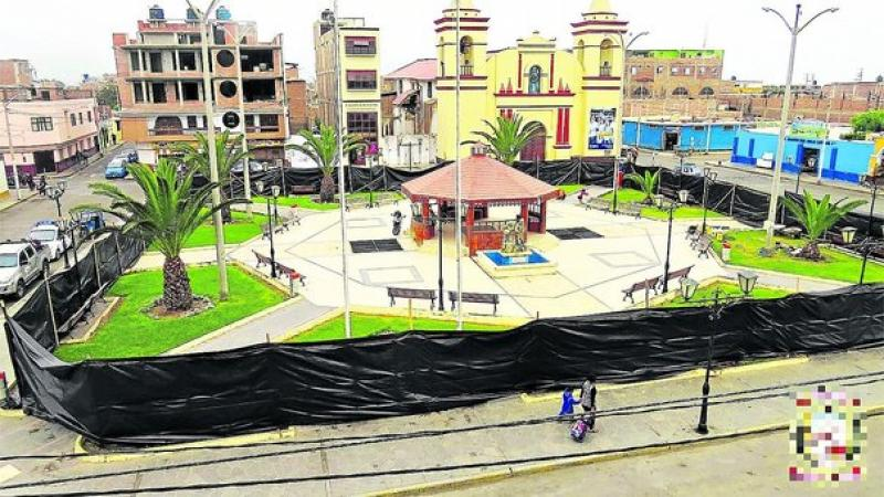S/465,000 para mejorar la plaza de Moche