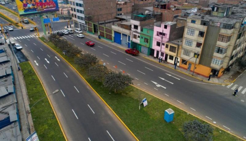 MML: renuevan vía que une Rímac y Cercado de Lima