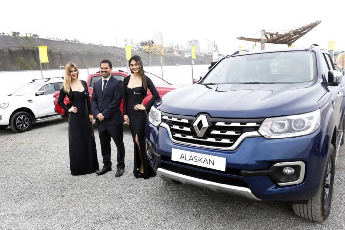 Llega al Perú Alaskan, la pick-up de Renault con estilo SUV