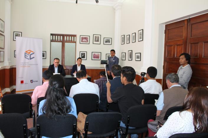 Una nueva propuesta para el desarrollo territorial de Arequipa en I Encuentro Anual de la Construcción