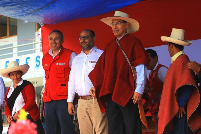 Más de 20,500 cajamarquinos se beneficiarán con camino vecinal La Palma-Guineamayo