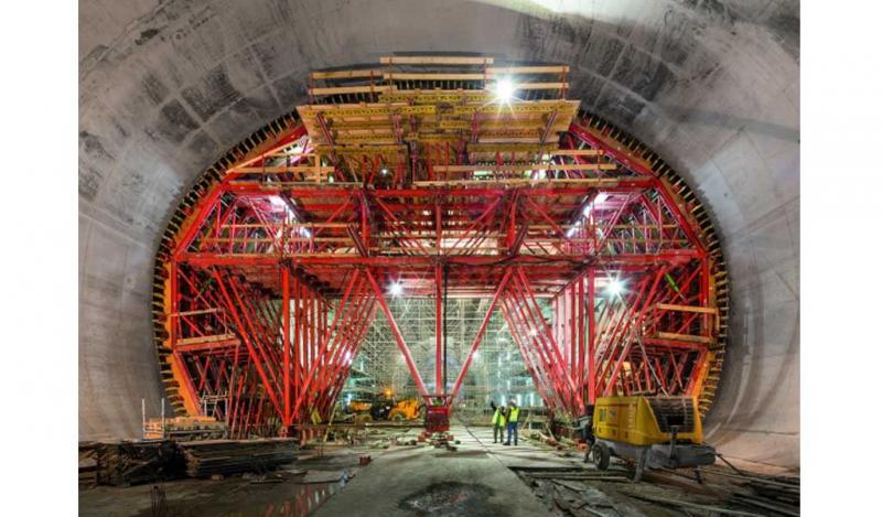 Encofrado de túneles en Argel con dimensiones récord