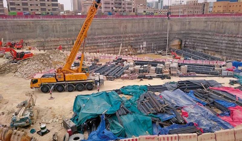 Metro de Riad: Soluciones especiales estancas para la estación de Qasr Al Hokom