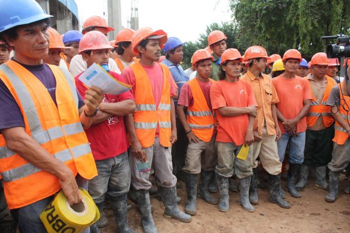 FTCCP respalda lucha del gobierno central contra el crimen organizado infiltrado en el sector construcción