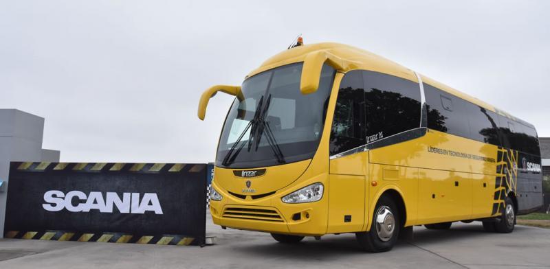 Scania innova para brindar un nuevo standard de seguridad en buses
