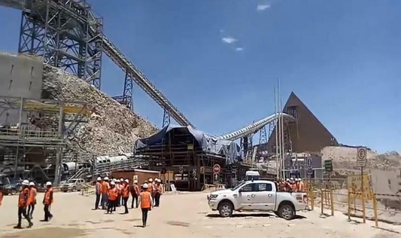 Tacna: Ampliación de mina Toquepala inició operaciones de prueba