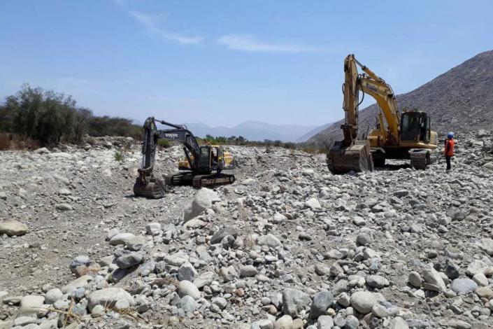 Inician renovación de canal de riego en Cushipampa afectado por El Niño Costero